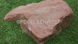 Fels R 3 Maße: L 129 cm, B 105 cm, H 45 cm