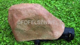 Pumpenabdeckstein R 12, L 32 cm, B 20 cm, H 15 cm