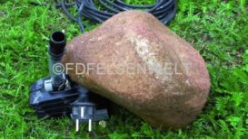 Pumpenabdeckstein R 22, L 20 cm, B 20 cm, H 10 cm