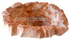 Bachlauf BK Quellbecken, Durchm. 105 cm, T 33 cm