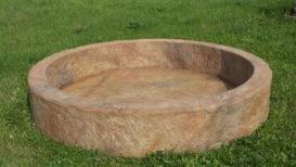 Felsenbecken P 250 Durchmesser 150 cm Tiefe 25 cm
