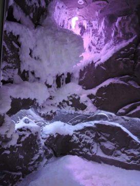 schneeraum zur abkühlung nach dem saunagang